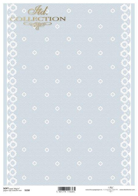Decoupage paper Soft ITD S0150