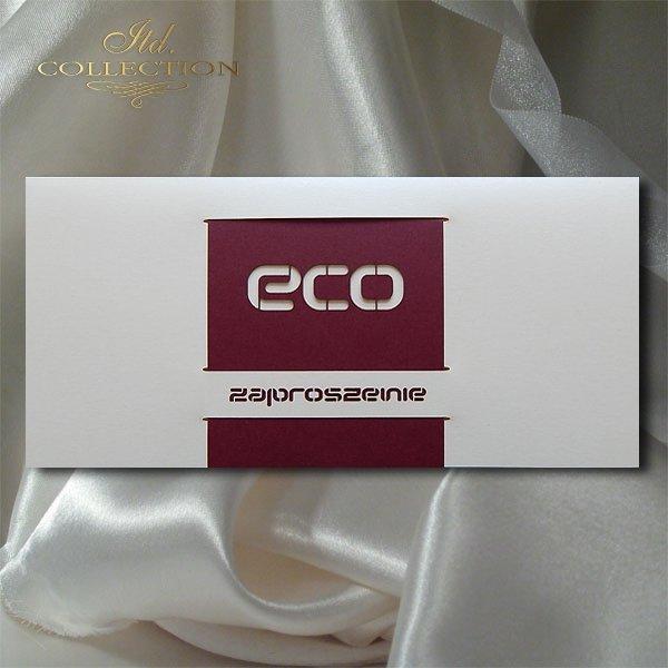 Zaproszenie biznesowe ZB1038 z kopertą