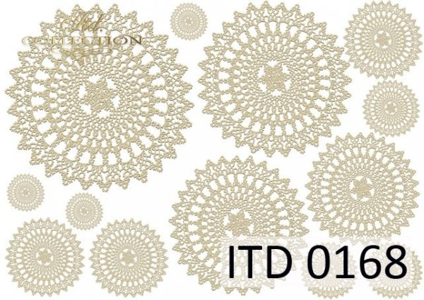 Papier decoupage ITD D0168