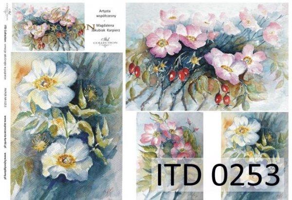 Papier decoupage ITD D0253M