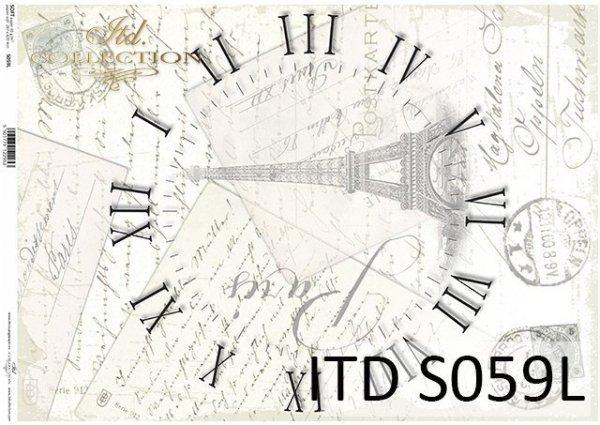 Papier decoupage SOFT ITD S0059L