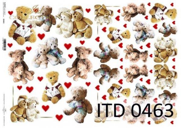 Papier decoupage ITD D0463M