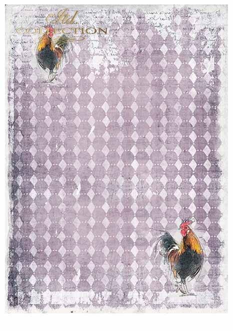 Papiery do scrapbookingu w zestawach - wokół farmy cz. 2 * Scrapbooking papers in sets - around the farm, vol.2