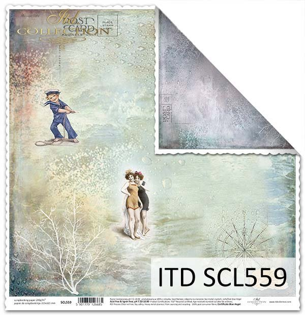 Papier scrapbooking SCL559