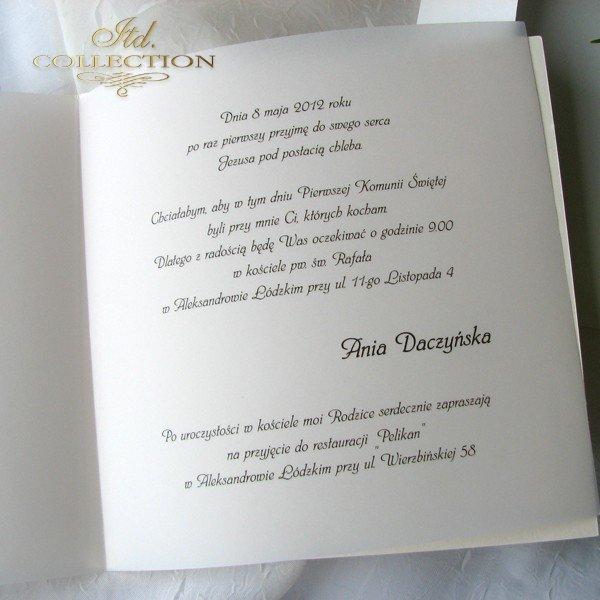 Zaproszenia  na Komunię Świętą 1732_022_lawenda