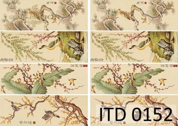 Papier decoupage ITD D0152M