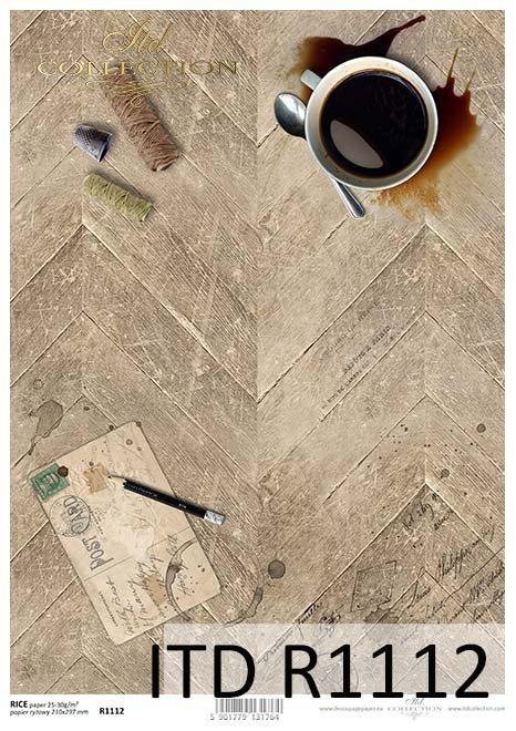 Papier decoupage tła, podłoga*Paper decoupage background, floor