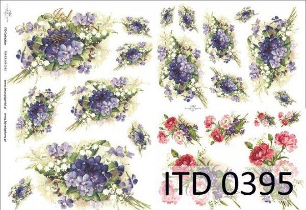 Papier decoupage ITD D0395