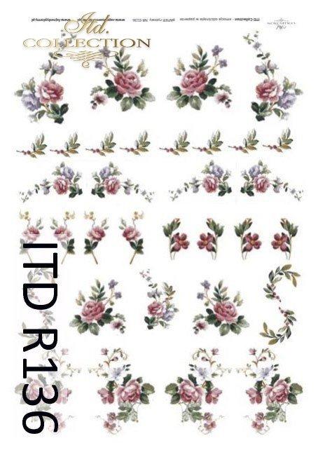 Papier ryżowy ITD R0136