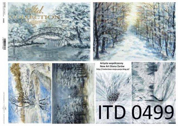 Papier decoupage ITD D0499