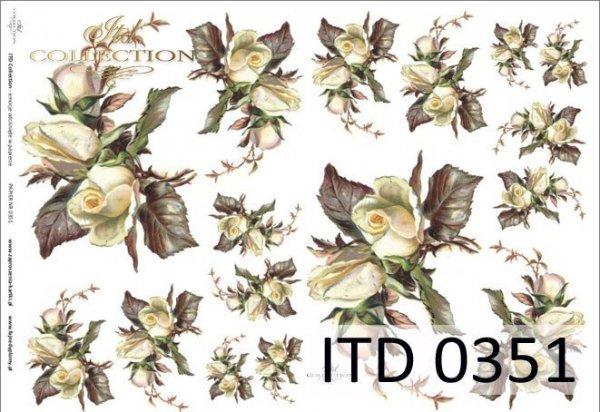 Papier decoupage ITD D0351