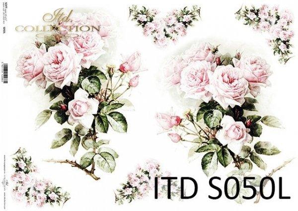 Papier decoupage SOFT ITD S0050L