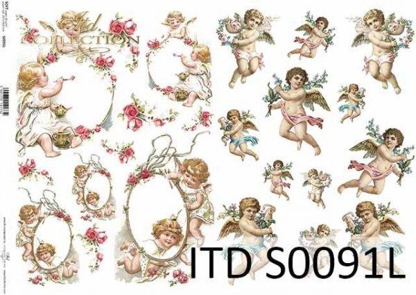 Papier decoupage SOFT ITD S0091L