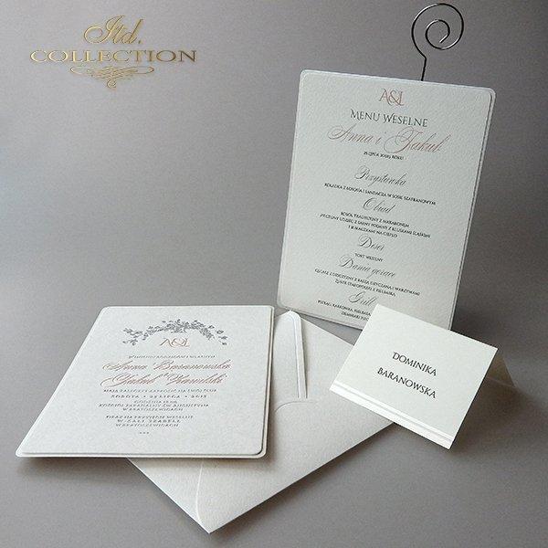 Zaproszenia ślubne / zaproszenie 2003