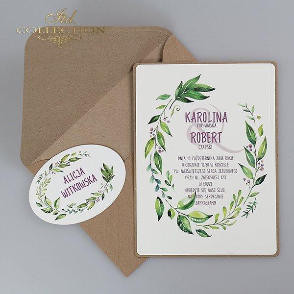 Einladung 2063 Hochzeitseinladungen*Pozvánka 2063 svatební pozvánky*Invitación 2063 invitaciones de boda