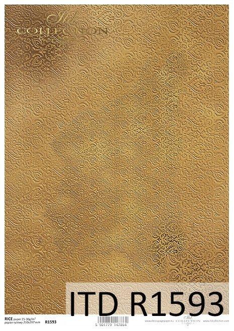 Papier-ryzowy-tapetowy-wzor-a'la-maureska-w-kolorze-starego-zlota*papel-de-arroz-wallpaper-patrón-la-maureska-en-color-oro-viejo