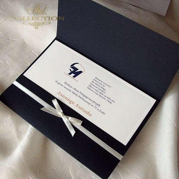 Zaproszenie biznesowe ZB02