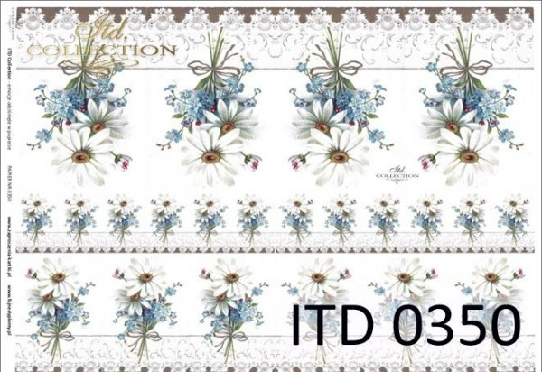 Papier decoupage ITD D0350M