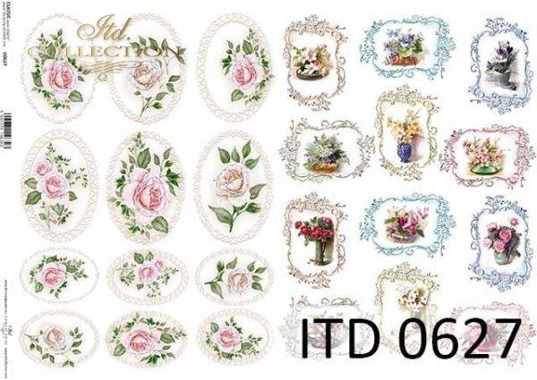 Papier decoupage ITD D0627