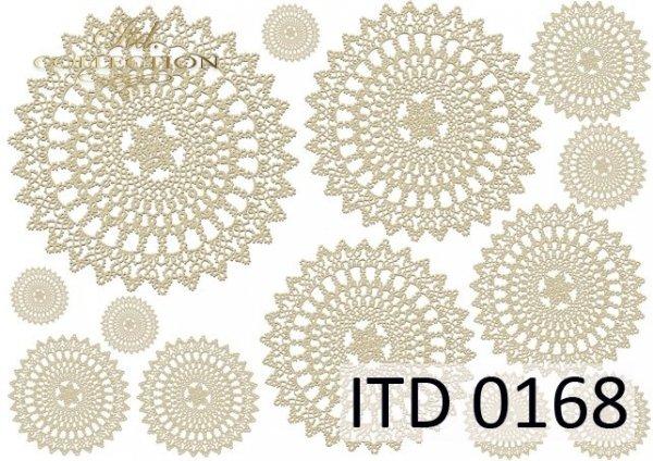 Papier decoupage ITD D0168M