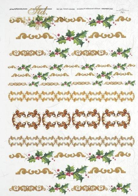 Christmas decors, decorations, Christmas, Christmas decorations, floral motifs