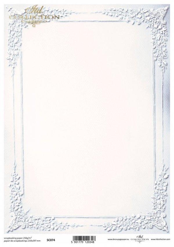 Papier scrapbooking SC0074