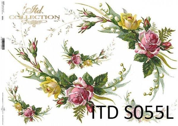 Papier decoupage SOFT ITD S0055L