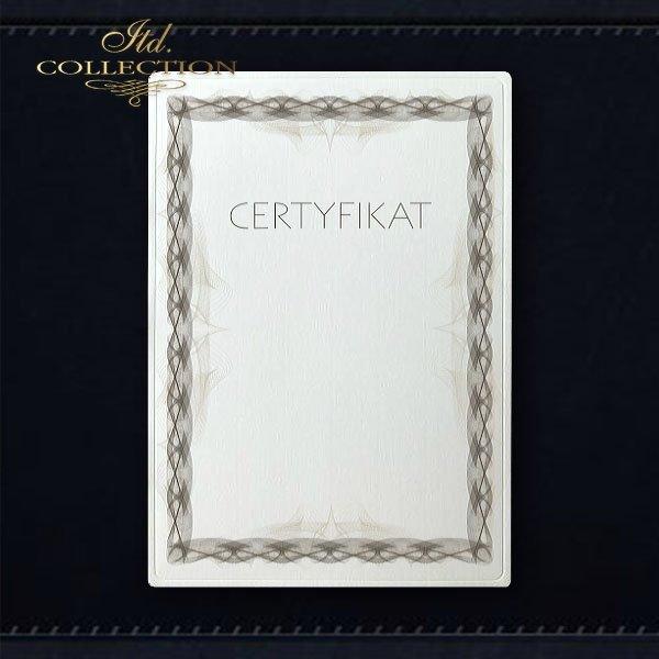 dyplom DS0326 certyfikat
