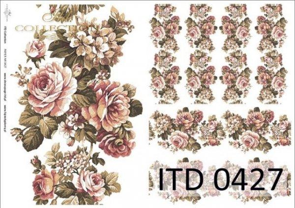 Papier decoupage ITD D0427M