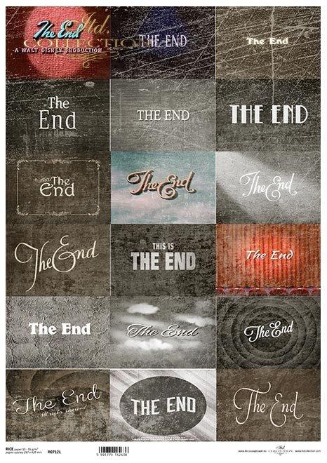Magia kina, tagi, the end*The magic of cinema, tags, the end*Die Magie des Kinos, Tags, das Ende*La magia del cine, las etiquetas, el final