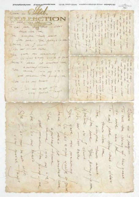 list, listy, listownik, papeteria, vintage, handwritten, letters, letter, R051