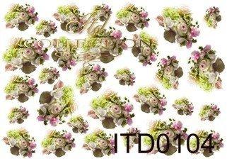 Papier decoupage ITD D0104