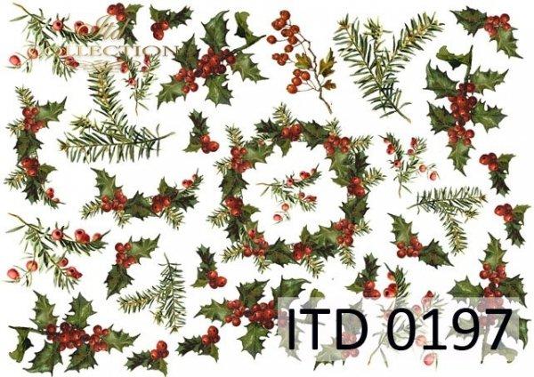 Papier decoupage ITD D0197