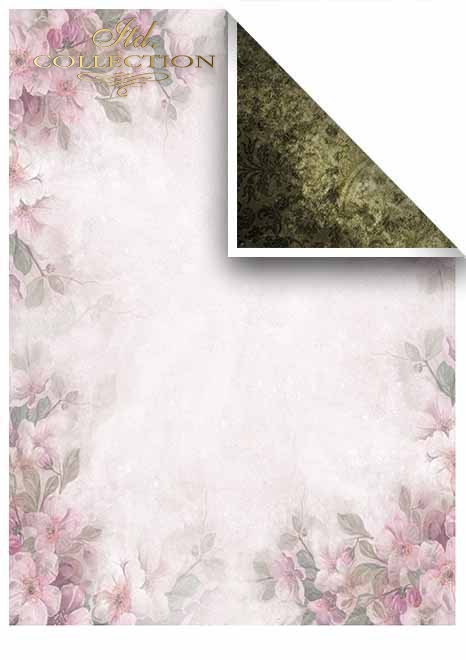 Papiery do scrapbookingu w zestawach - Magiczny Ogród * Scrapbooking papers in sets - Magic Garden