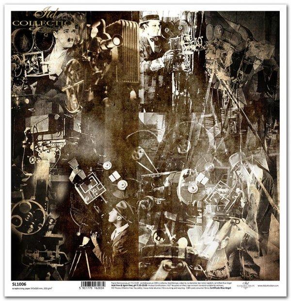 Magia kina - kamery, kolaż, reżyserzy*The magic of cinema - cameras, collage, directors*Die Magie des Kinos - Kameras, Collagen, Regisseure*La magia del cine: cámaras, collage, directores