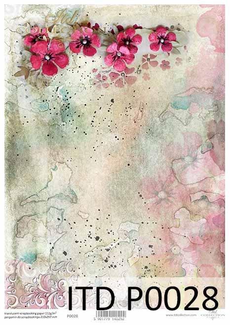 kwiaty-kolorowe-akwarele-tło-Pergamin-do-scrapbookingu-P0028