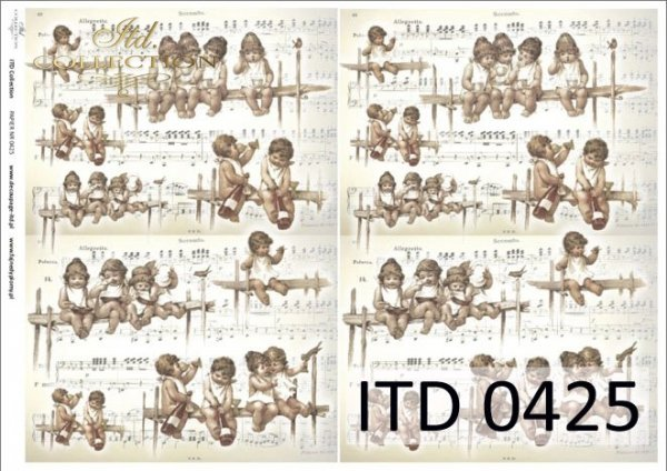 Papier decoupage ITD D0425M