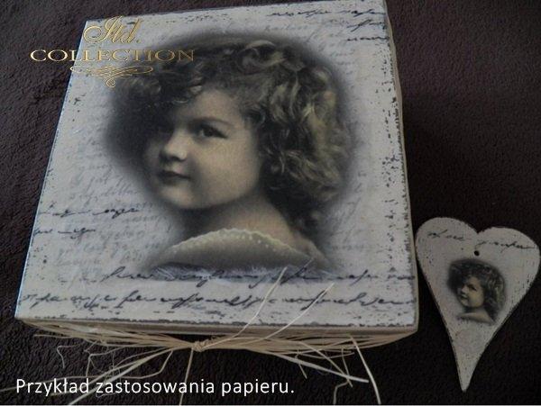 dzieci, dziewczynki, portrety dzieci, styl retro, R261 - example 01