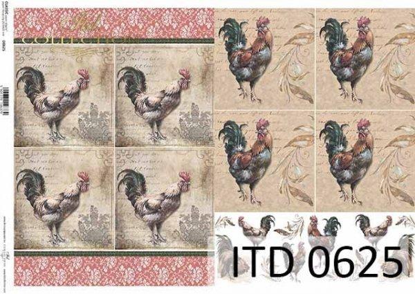 Papier decoupage ITD D0625