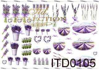 Papier decoupage ITD D0105