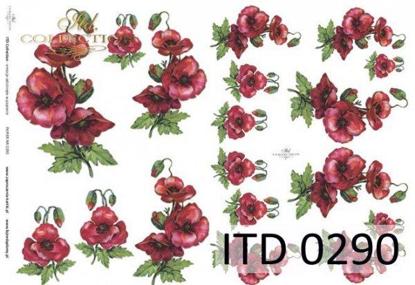 Papier decoupage ITD D0290