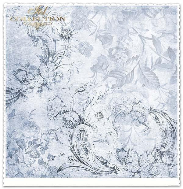 papier do scrapbookingu, aniołki, kwiaty, róże*Paper for scrapbooking, angels, flowers, roses