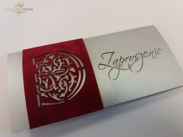Zaproszenie biznesowe ZB1027 z kopertą 004