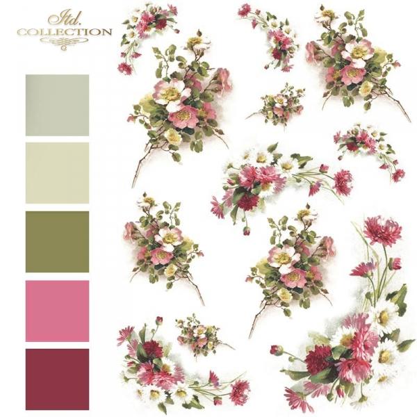 łąka, ogród, róża, róże, bukiet, bukiety, kwiat, kwiaty, kwiatek, kwiatki, listki, liście, płatki kwiatów, R565