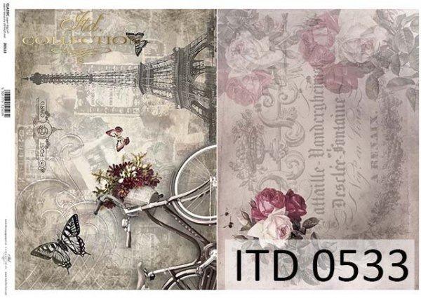 Papier decoupage ITD D0533