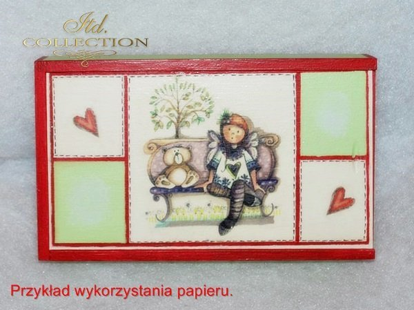 ITD Collection, decoupage, scrapbooking, mixed media - example 2