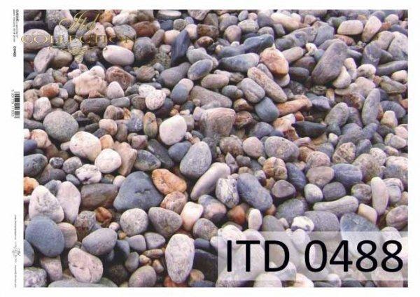 Papier decoupage ITD D0488