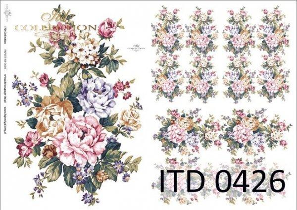 Papier decoupage ITD D0426