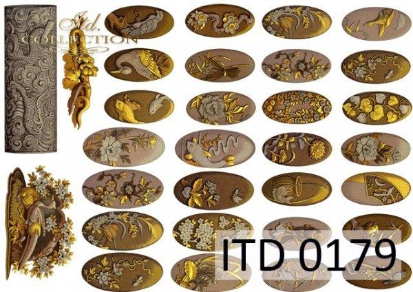 Papier decoupage ITD D0179