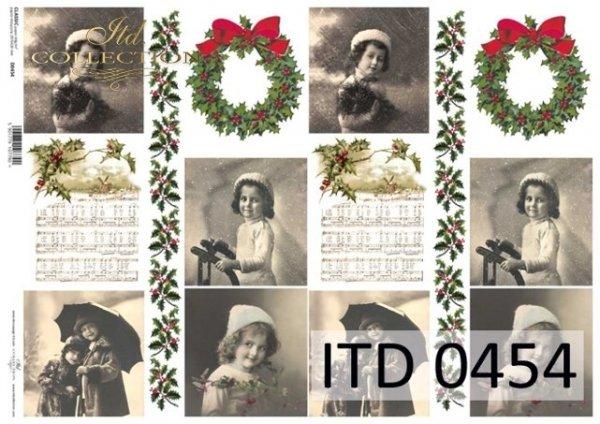 Papier decoupage ITD D0454M